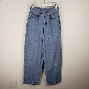 Lee Riders High Rise Light Wash Mom Jeans 28 in